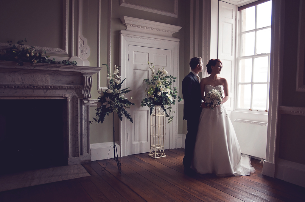 Wedding photography at Cusworth Hall