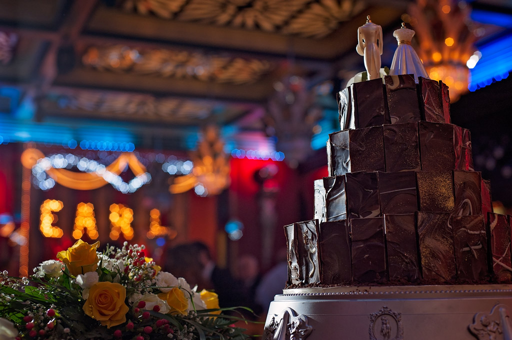 Wedding cake at te earl of doncaster hotel