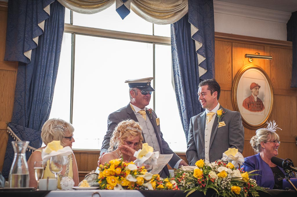 Wedding reception at The Earl of Doncaster Hotel
