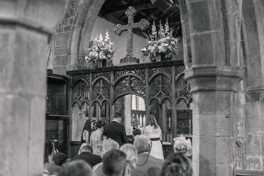 Kristy and James wedding at St John the Baptist's church in Misson in Nottinghamshire
