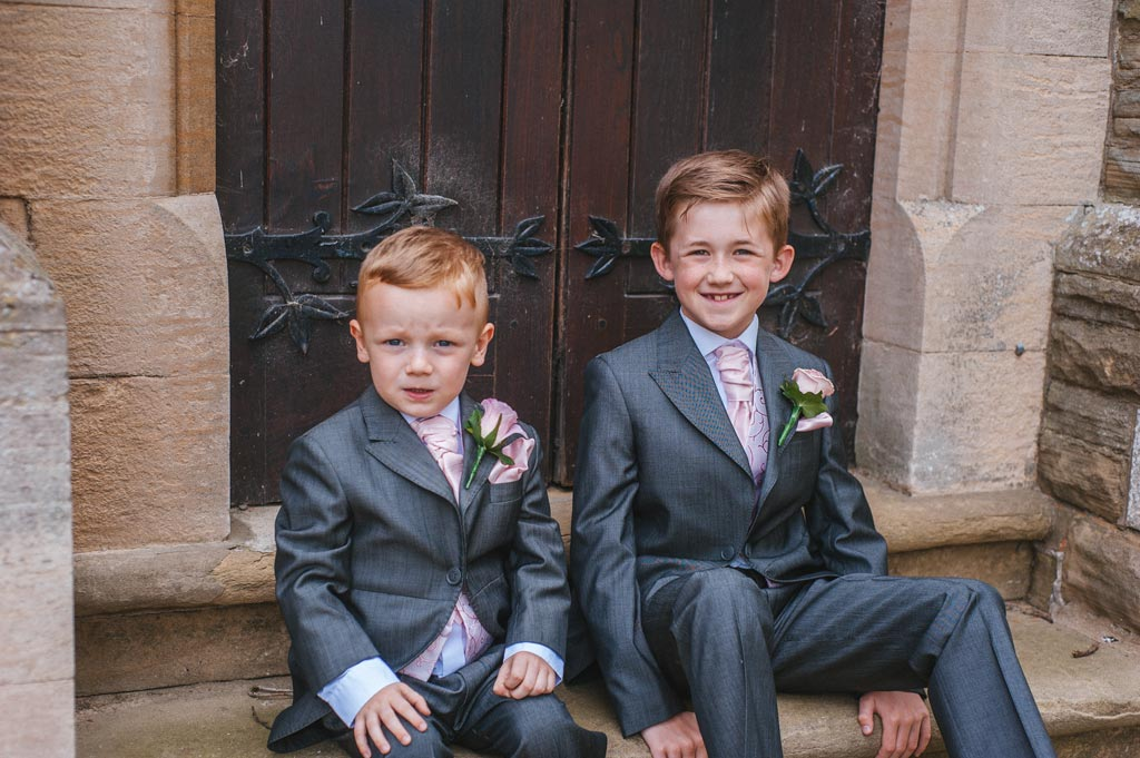 Pageboys wedding pictures