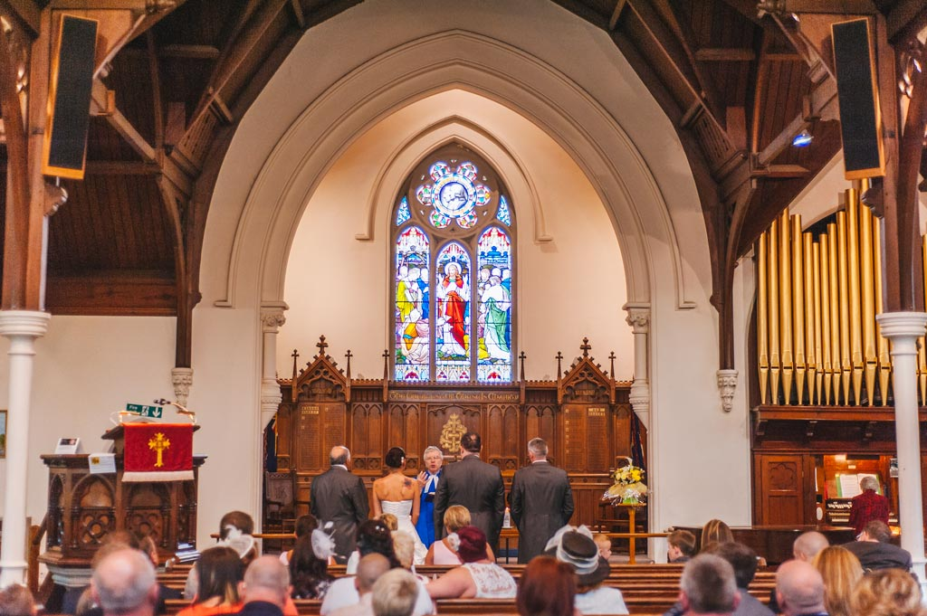 Wedding photography at Wesley Memorial Methodist Church in Epworth Lincolnshire