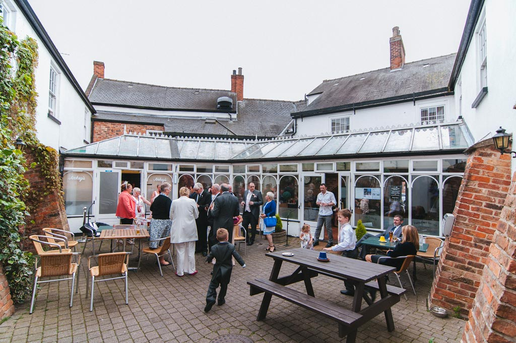 Wedding reception at the red lion epworth