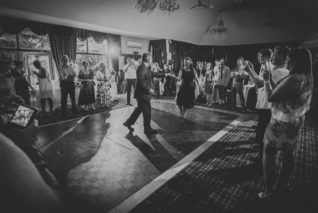 First dance at The Parsonage Hotel in York