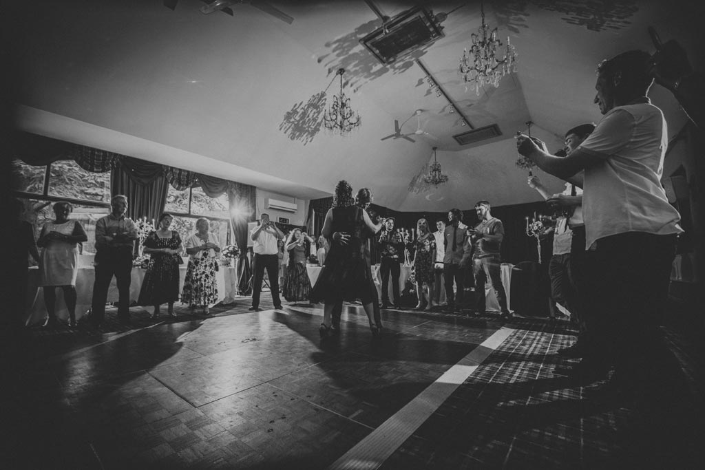 First dance wedding photography at The Parsonage Hotel in York