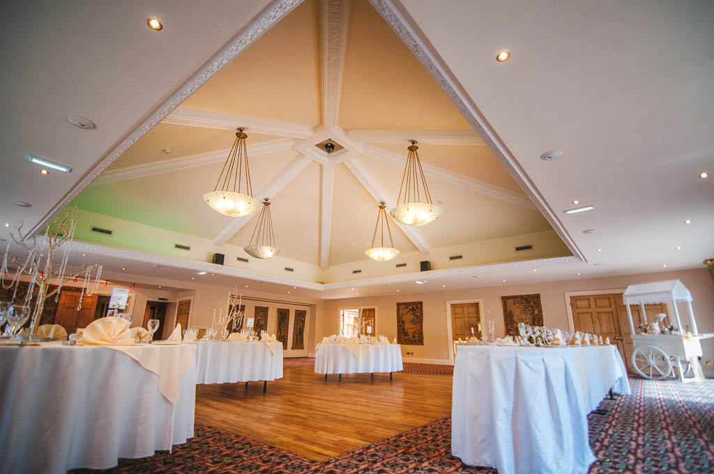 Wedding reception at Mount Pleasant Hotel Doncaster