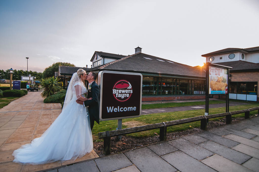 Brewers Fayre Cheswold Lodge wedding photography Doncaster