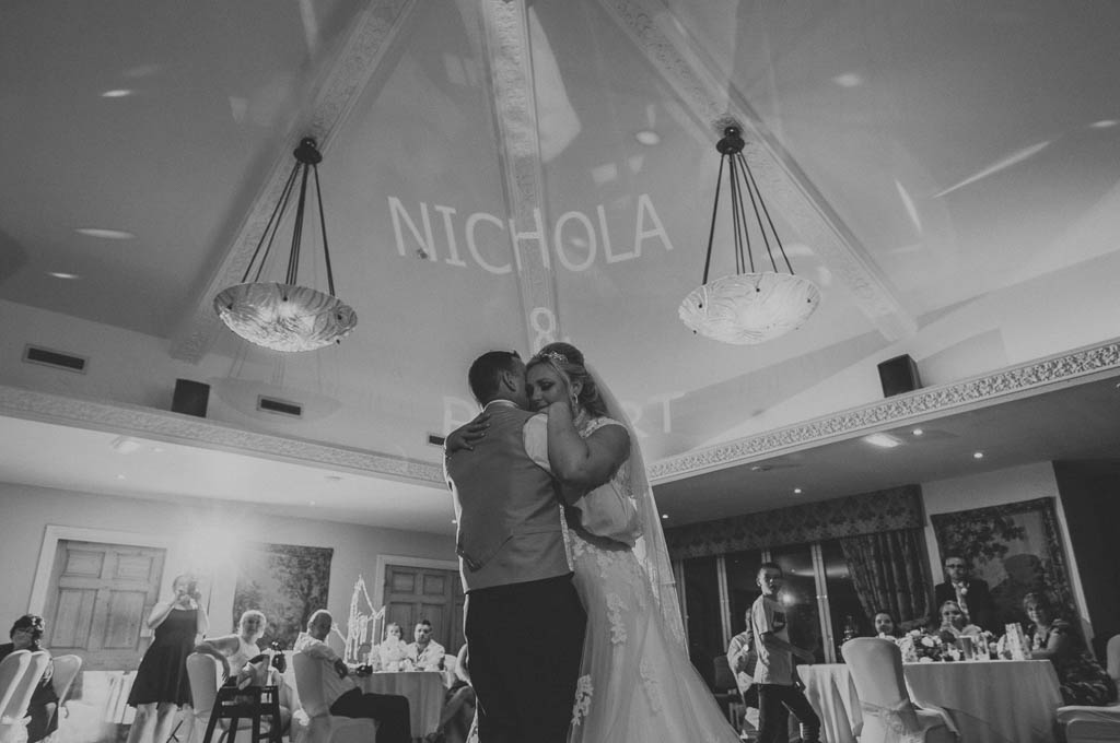 First dance at Mount Pleasant Hotel Doncaster