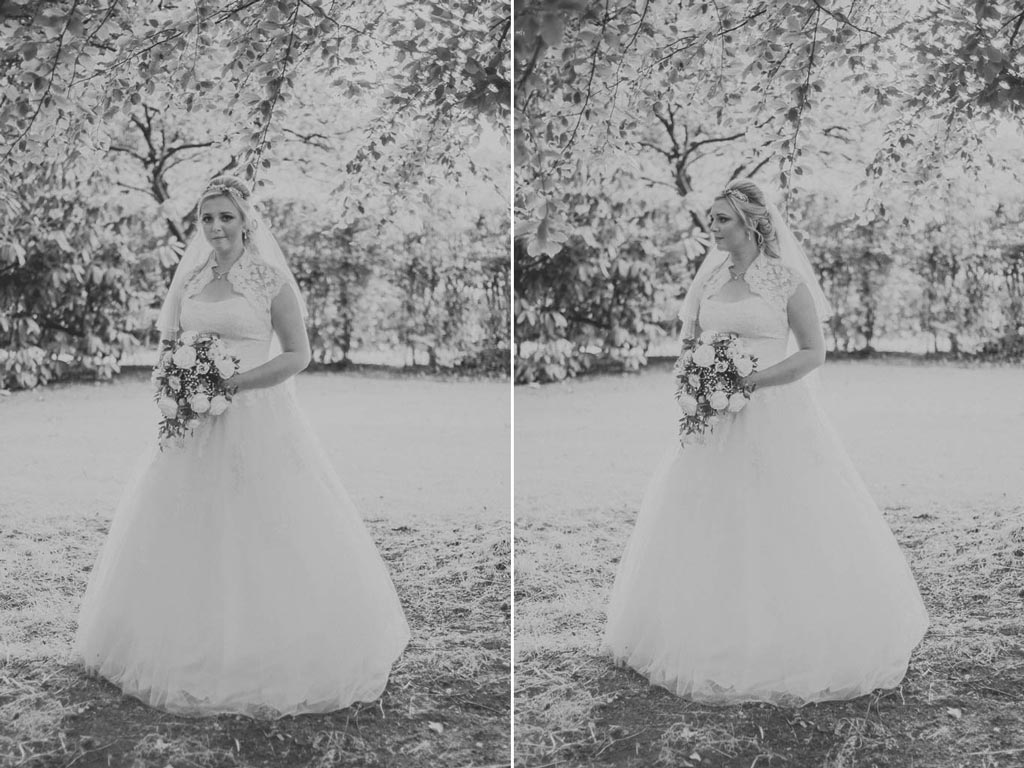 Bride at Mount Pleasant Hotel Doncaster