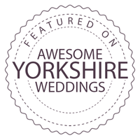 Featured on Awesome Yorkshire Weddings blog