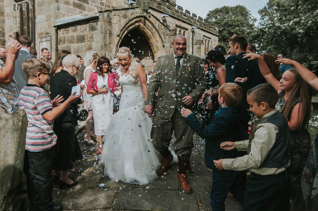 Cheryl and Dean's hunting themed wedding Derbyshire