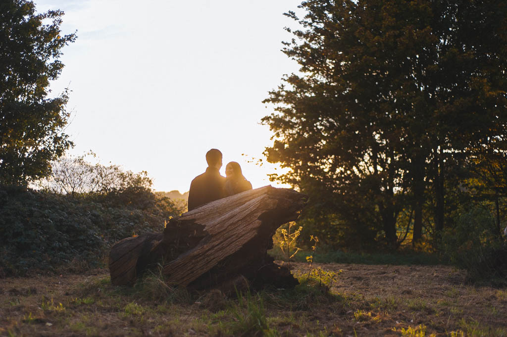 Engagement photography at Cusworth Hall in Doncaster