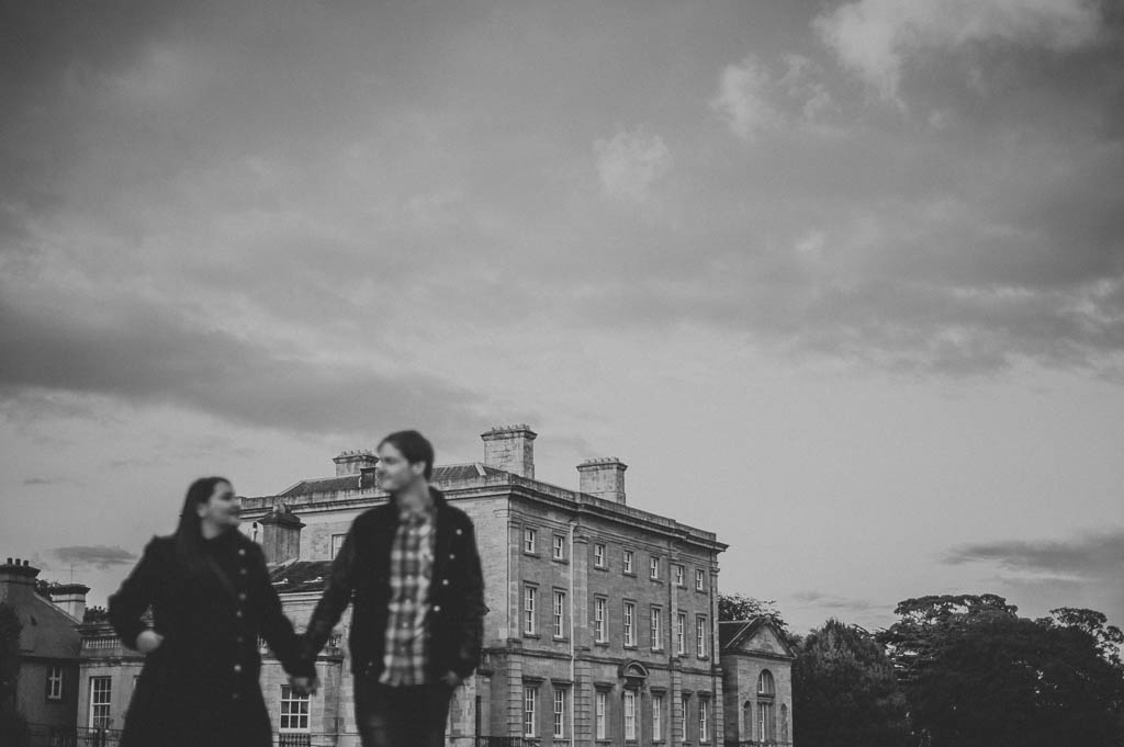 Engagement photography at Cusworth Hall in South Yorkshire