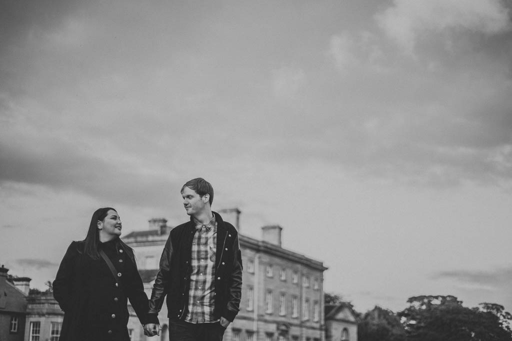 Engagement photography at Cusworth Hall