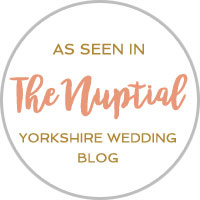 Photographer featured on the Nuptial Yorkshire Wedding blog
