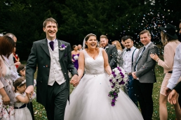 South Yorkshire wedding photographer at the Stables