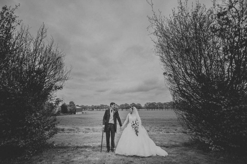 Wedding photography at The Stables