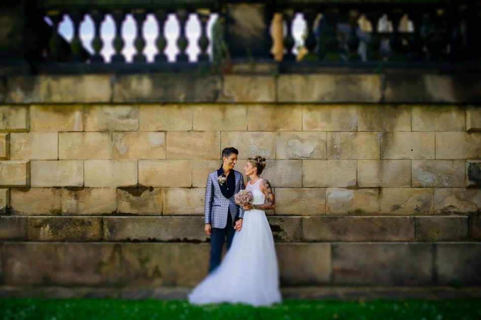 Same sex wedding photography Yorkshire