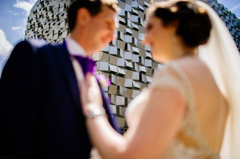 Sheffield City Centre wedding photography