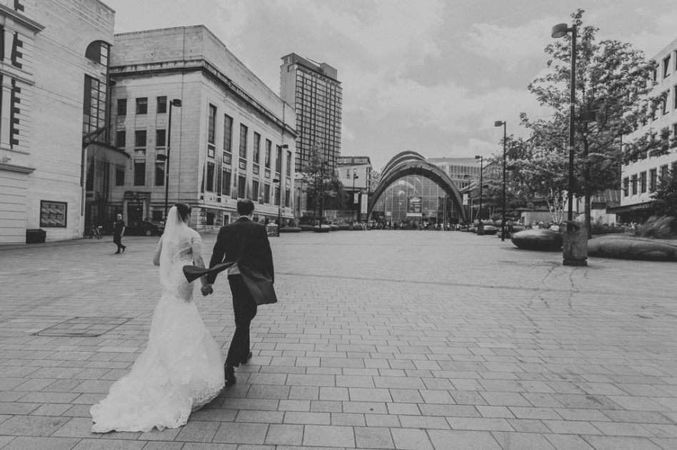 Sheffield Winter Gardens wedding photography