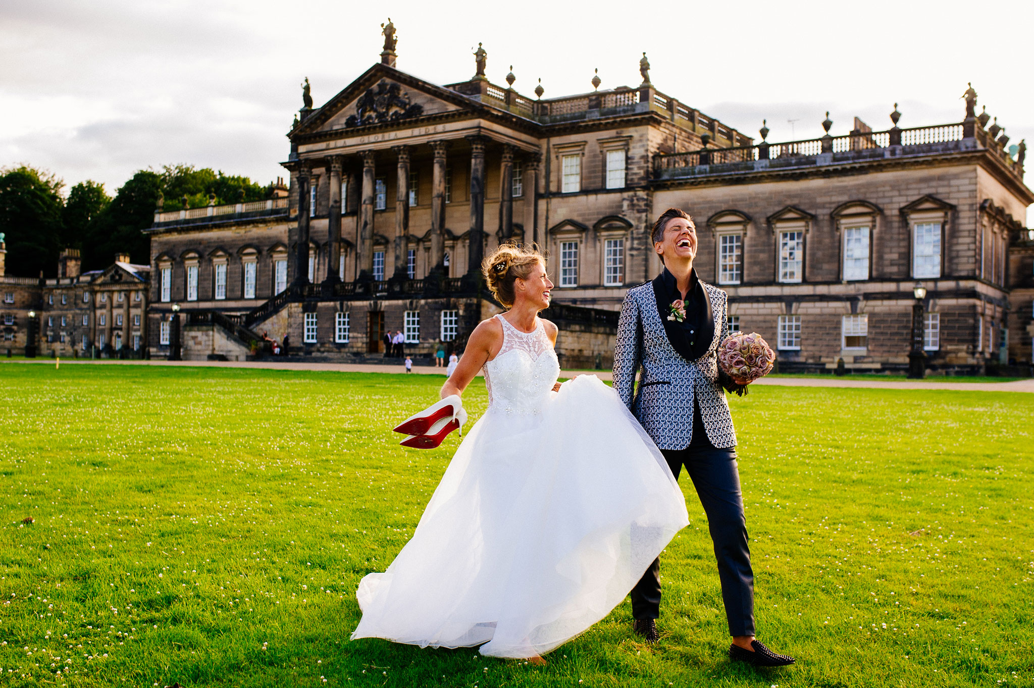 Wentworth Woodhouse wedding photographer
