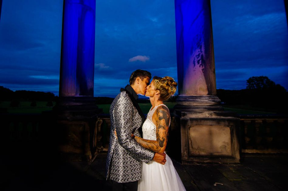 Wedding photography at Wentworth Woodhouse