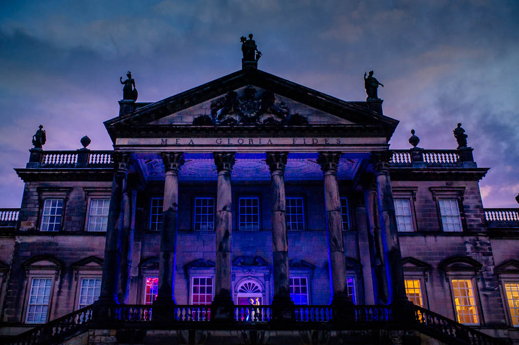 Wentworth Woodhouse wedding venue at hight