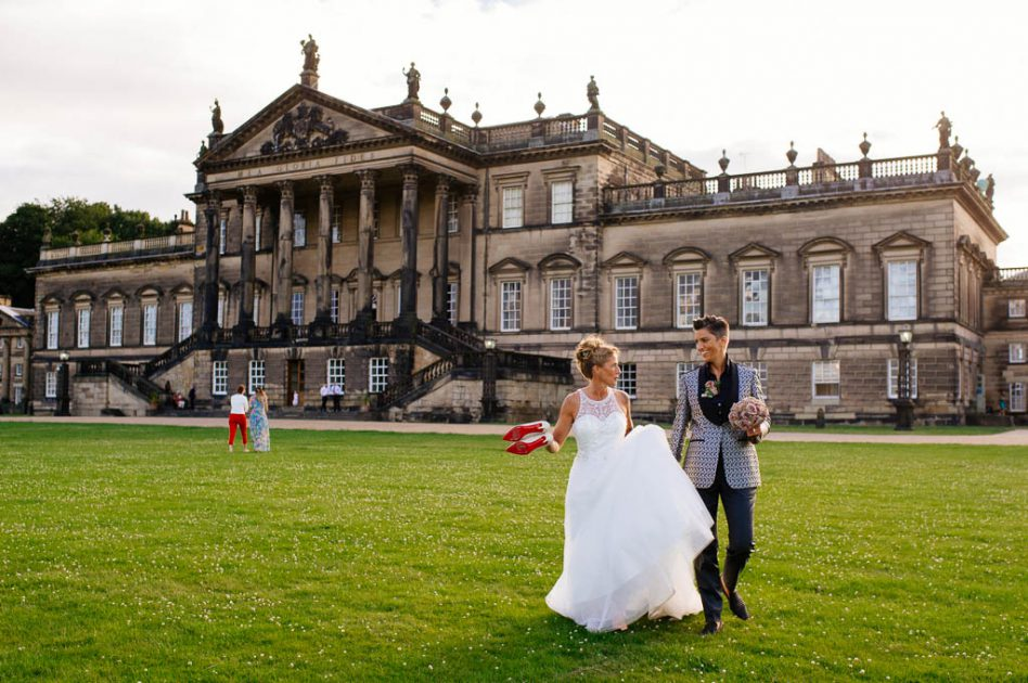 Wentworth woodhouse wedding day