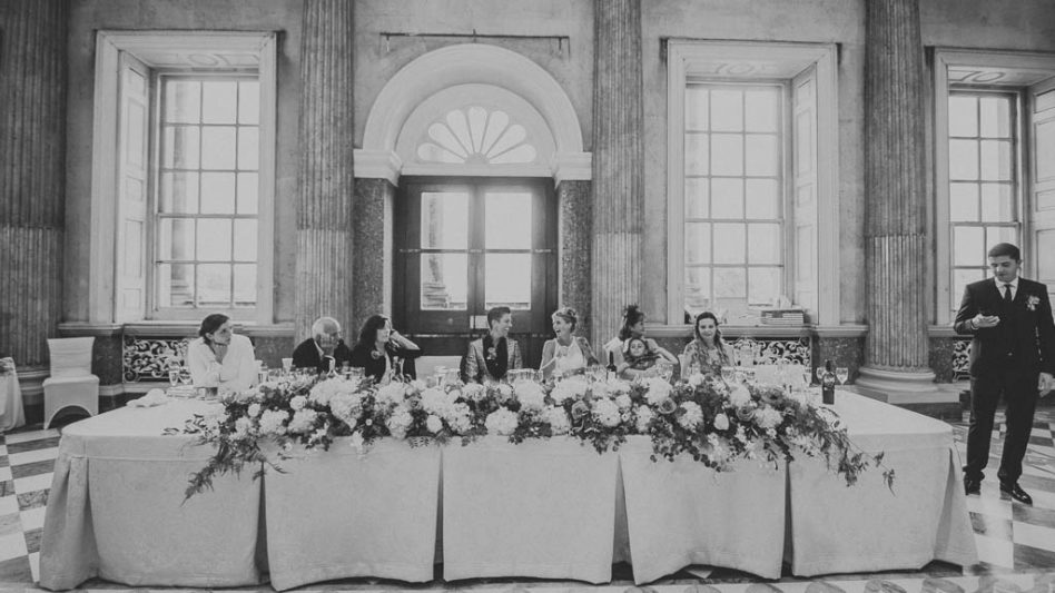 Wedding speeches at wentworth woodhouse