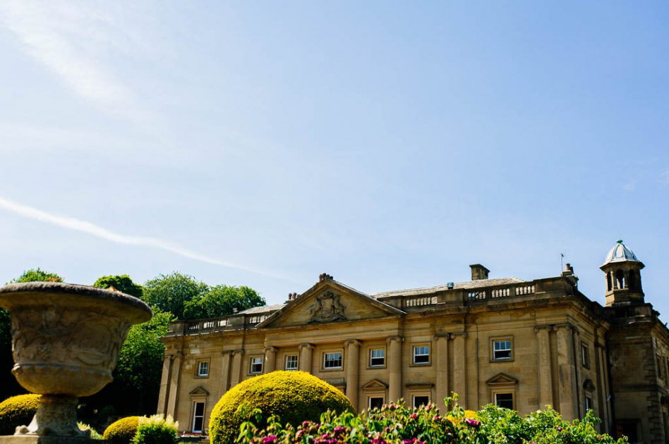 Wortley Hall wedding venue in South Yorkshire