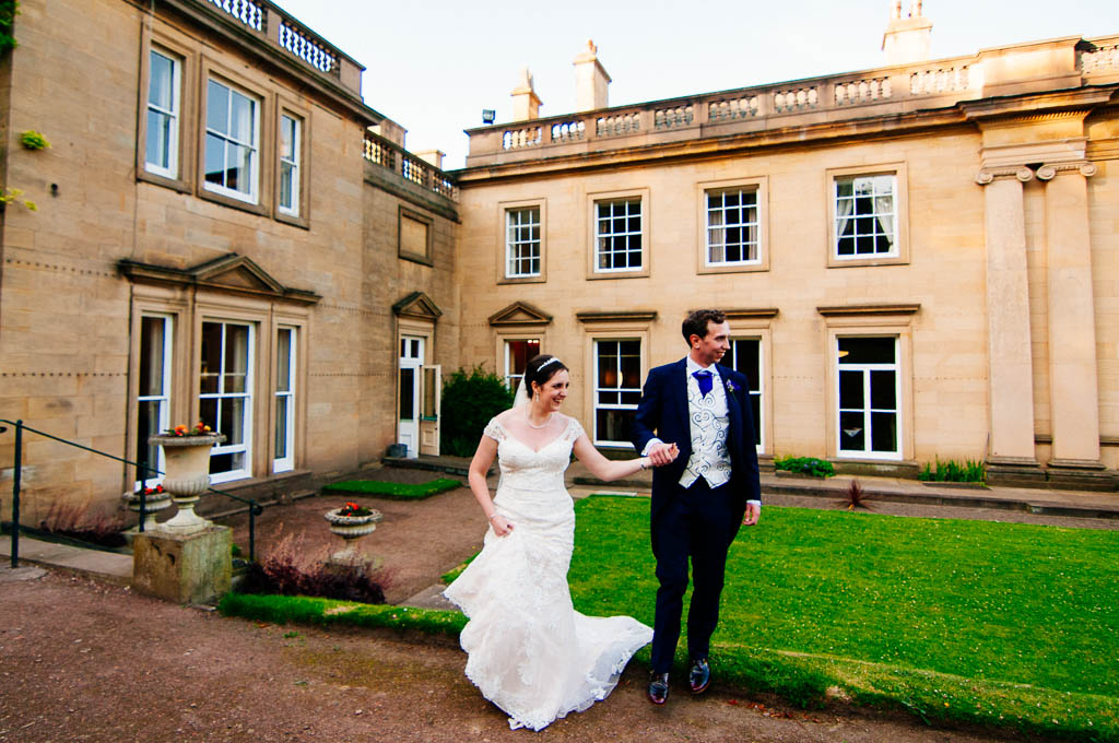 Wortley Hall wedding photographer in Barnsley