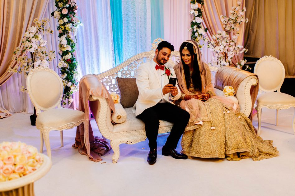 Yasmin and Tausif's Walima at Colwick Hall in Nottingham