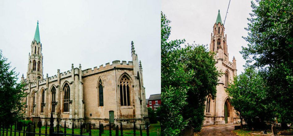 Christ Church, a beautiful place for a church wedding in Doncaster