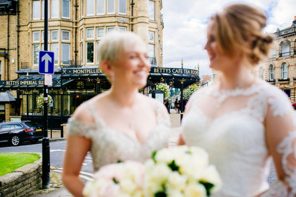 Bettys Harrogate wedding photos