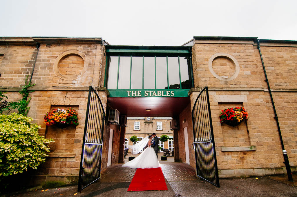 The Stables wedding