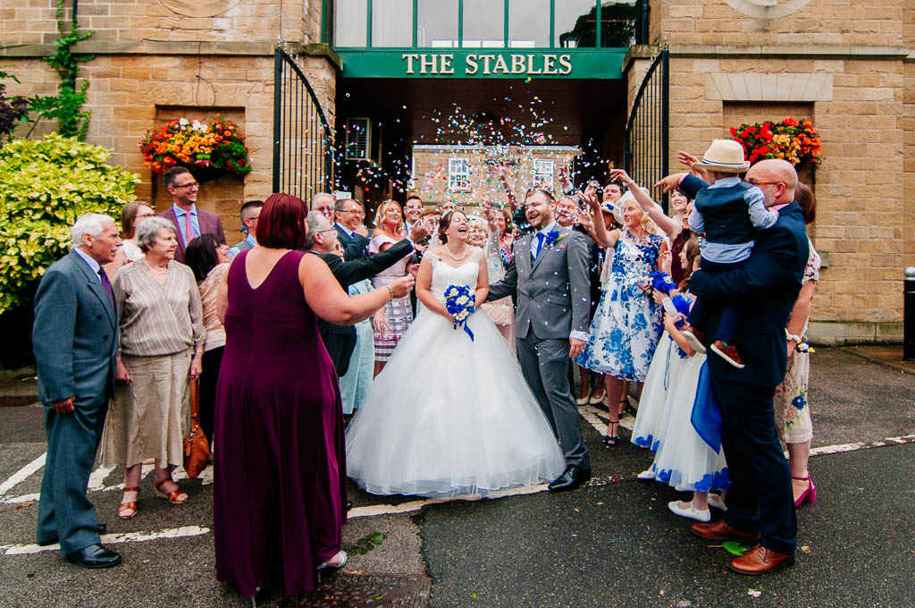 Wedding at the stables