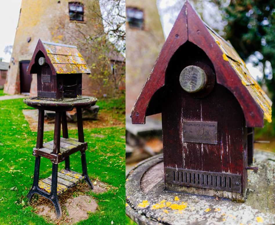 Bird house at Fishlake Mill