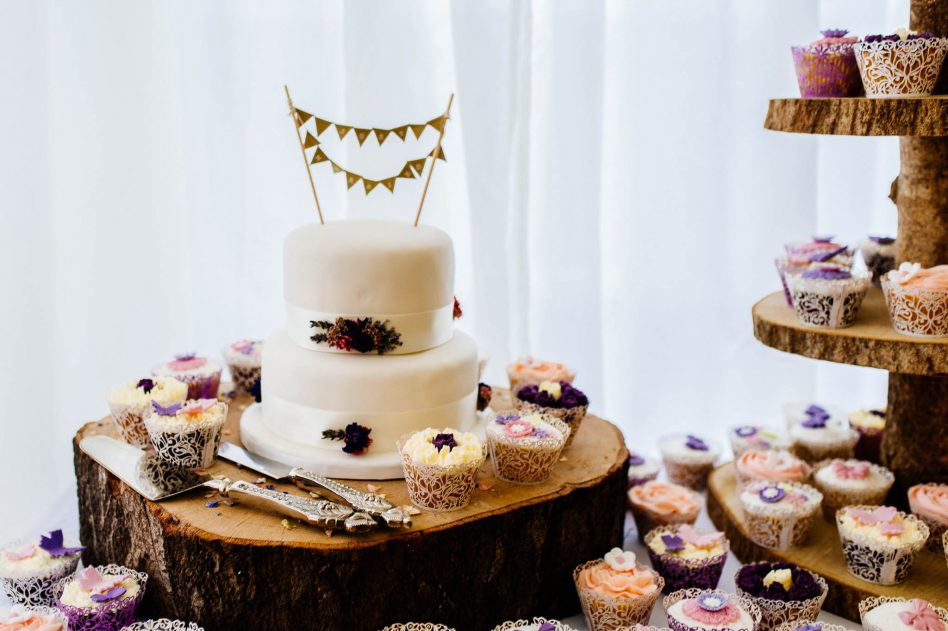 Wedding cake at Fishlake Mill