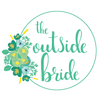 Featured on The Outside Bride wedding blog