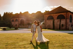 Same sex wedding at Hazel Gap Barn