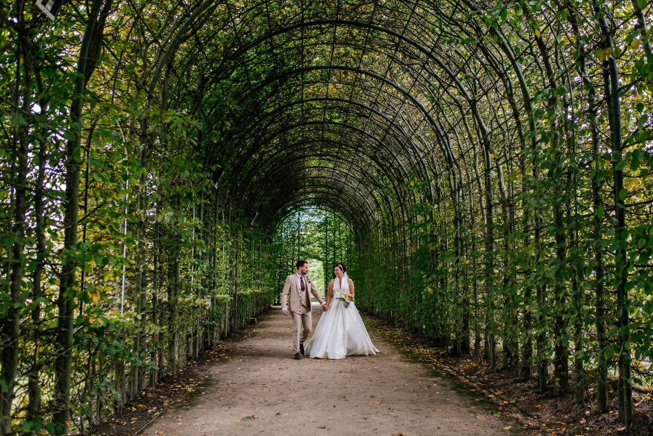 The Alnwick garden - wedding venue in Northumberland