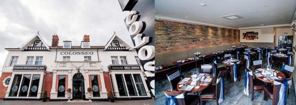 Colosseo restaurant Doncaster