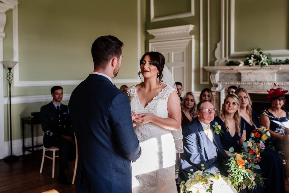 Cusworth Hall wedding ceremony