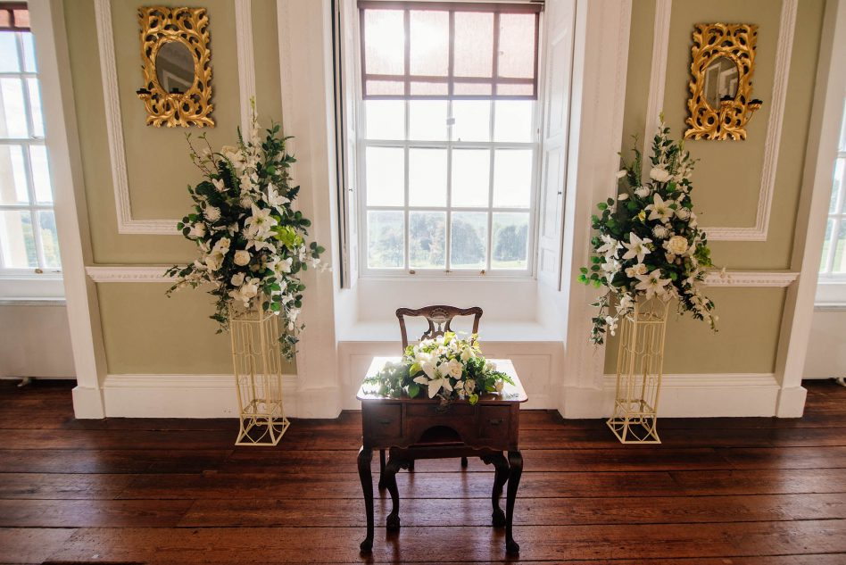 Wedding ceremony at Cusworth Hall