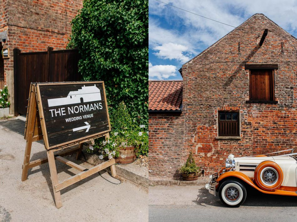 The Normans wedding venue York