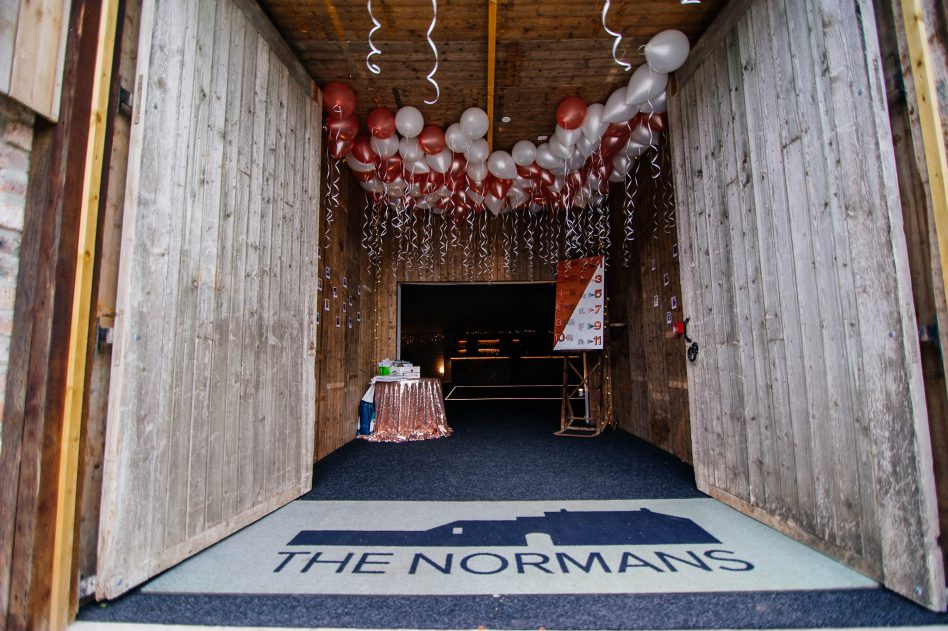 The Normans barn
