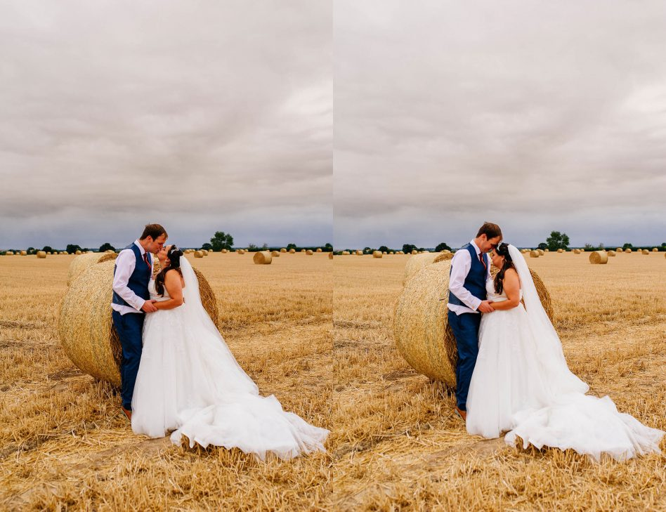 Hayfield wedding photos