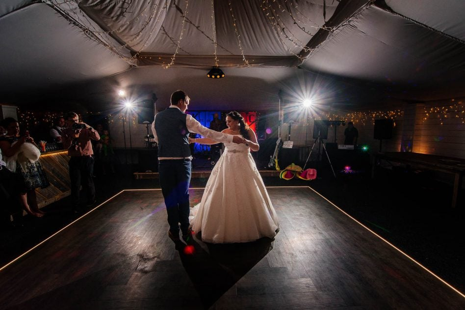 First dance at The Normans in York