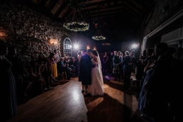 First dance at the barn at harburn wedding