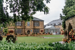 Rogerthorpe manor wedding venue in West Yorkshire